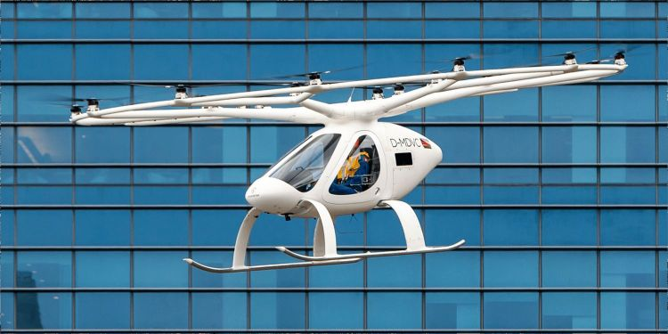 Volocopter Drone Taxi