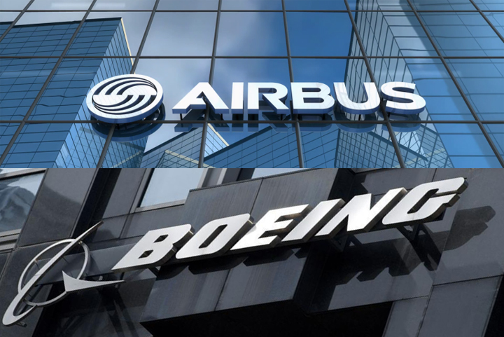 Risk assessment Boeing and Airbus