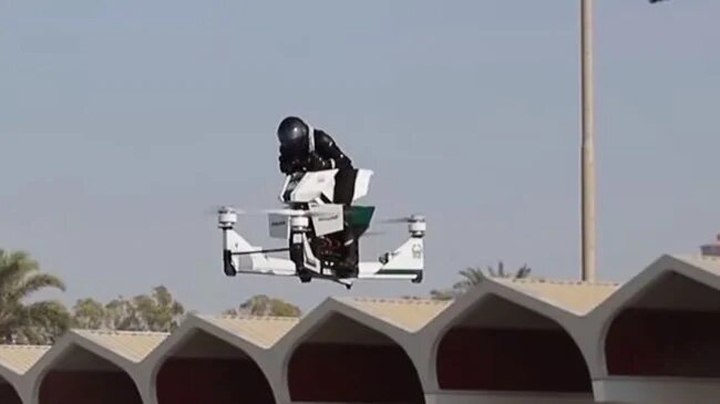 Russian Made Police Hoverbike 1