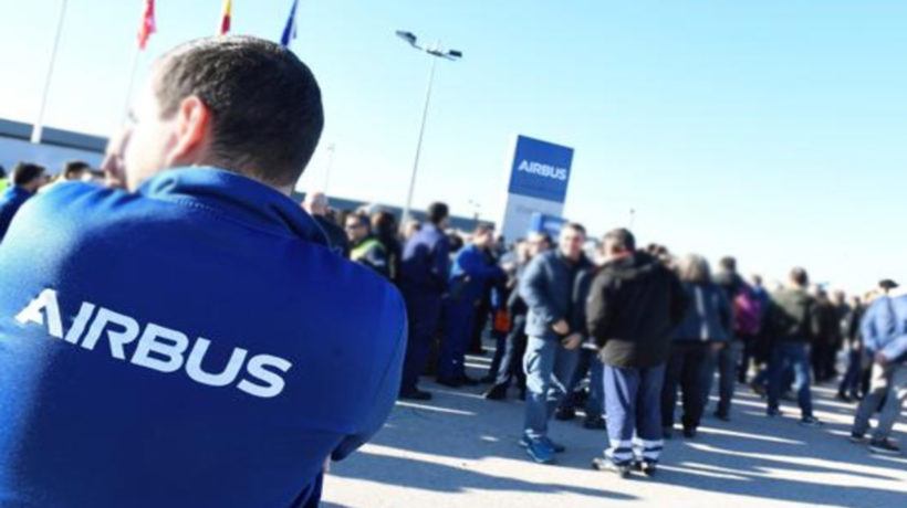 Airbus lay off employees